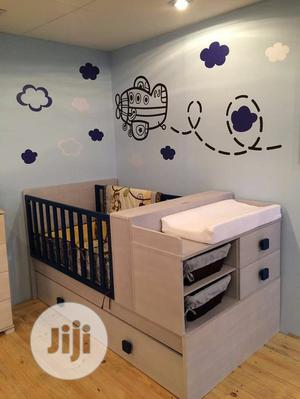 Baby Crib With Storage Drawer | Children's Furniture for sale in Lagos State, Ipaja