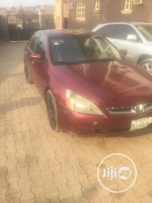 Honda Accord 2003 Automatic Red | Cars for sale in Lagos State, Ojodu