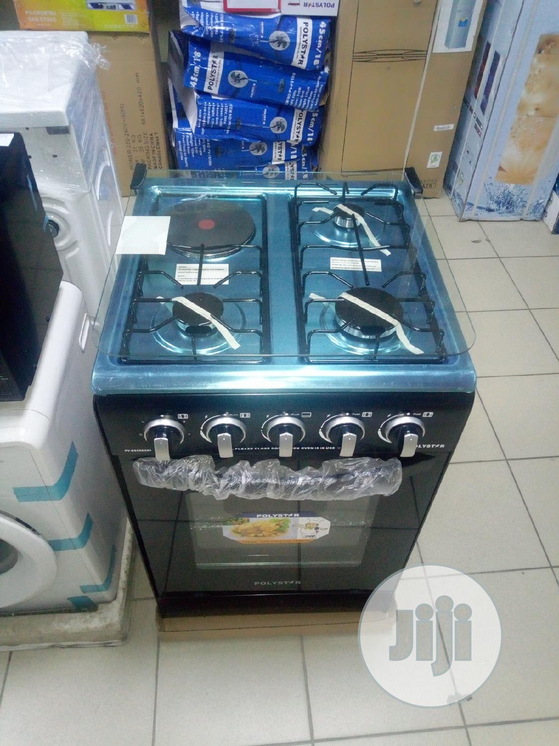 Polystar Standing Gas Cooker With Oven 50 By 50