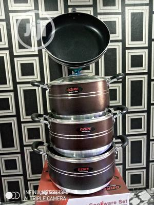 3 Pots With a Frying Pan | Kitchen & Dining for sale in Lagos State, Lagos Island (Eko)