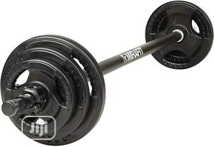 Mirafit 20kg Barbell - For Aerobic Weightloss | Sports Equipment for sale in Lagos State, Amuwo-Odofin