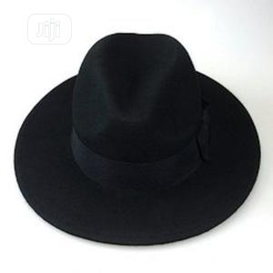 Black Fedora Man Hat -Black   Clothing Accessories for sale in Lagos State, Abule Egba