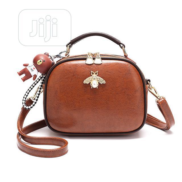 Ladies Fashion Leather Bee Bag