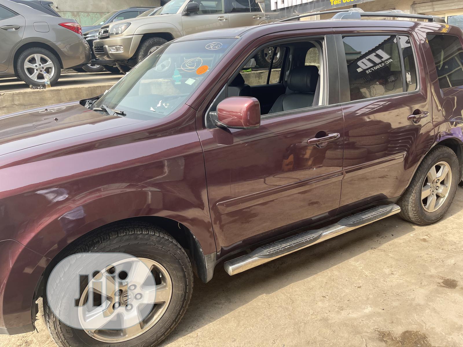 Honda Pilot 2009 Red | Cars for sale in Ibadan, Oyo State, Nigeria