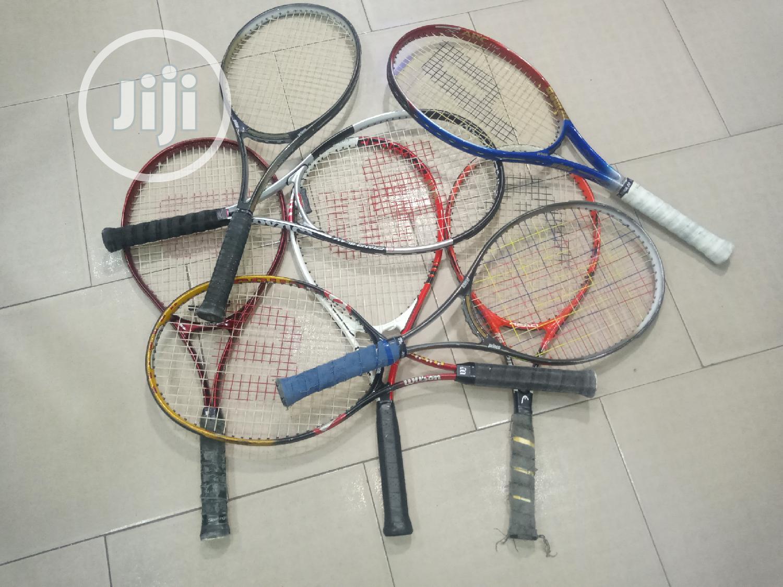 Original Tokunbo UK Use Lawn Tennis Racket.. Wilson, Head