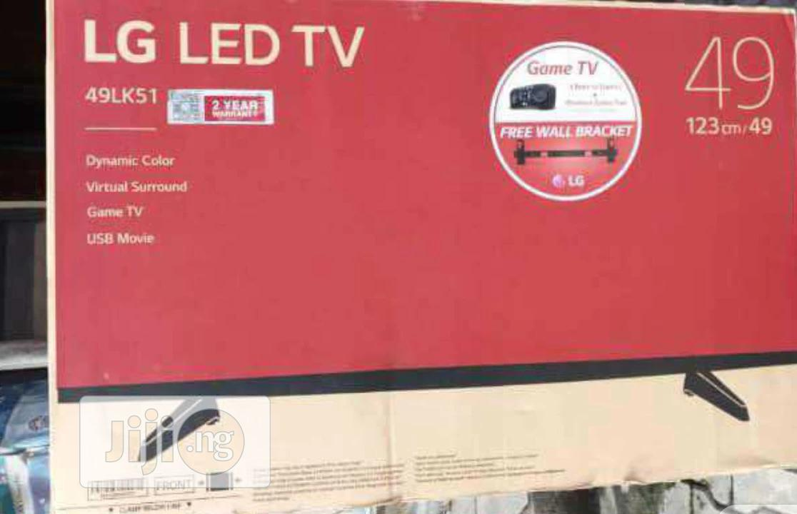 LG LED TV 49 Inches