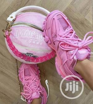 Pink Balenciaga Sneakers   Shoes for sale in Lagos State, Lekki