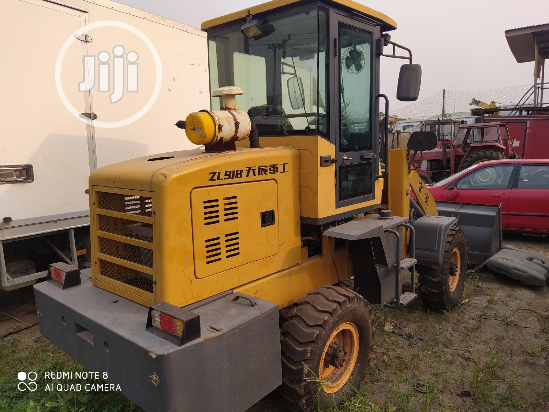 Brand New Baochen ZL918 Wheel Loader Machine 2014 Yellow For Sale