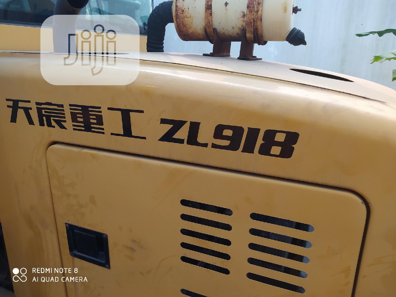 Brand New Baochen ZL918 Wheel Loader Machine 2014 Yellow For Sale   Heavy Equipment for sale in Amuwo-Odofin, Lagos State, Nigeria