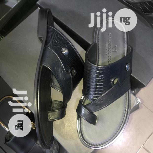 GIAMPIERO NICOLA Italian Leather Slippers   Shoes for sale in Ikoyi, Lagos State, Nigeria