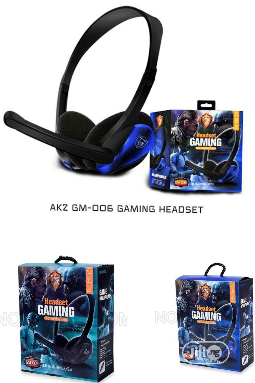 AKZ Gm-006 Gaming Headset. Gm 006 Gaming Headset.