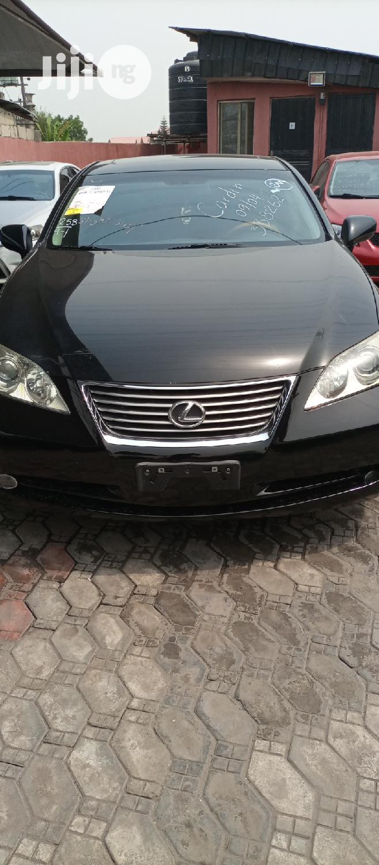Lexus ES 2009 350 Black