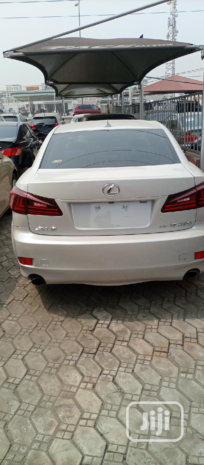 Lexus IS 2009 250 4WD White | Cars for sale in Orile, Lagos State, Nigeria