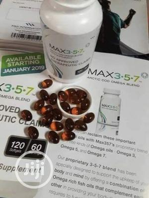 Max 357 Arctic Cod Omega Blend (PAYMENT ON DELIVERY)   Vitamins & Supplements for sale in Lagos State, Ajah