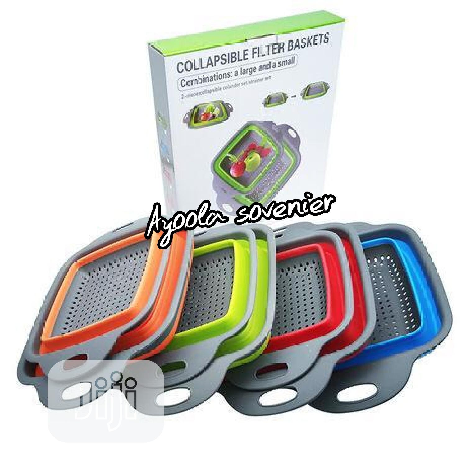 2in1 Collapsible Filters Basket