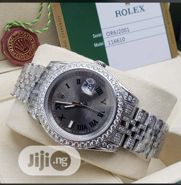Rolex Date/Day Full Ice Diamond   Watches for sale in Iwo, Osun State, Nigeria