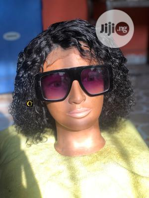 Human Hair Short Curly Wig | Hair Beauty for sale in Lagos State, Ikorodu