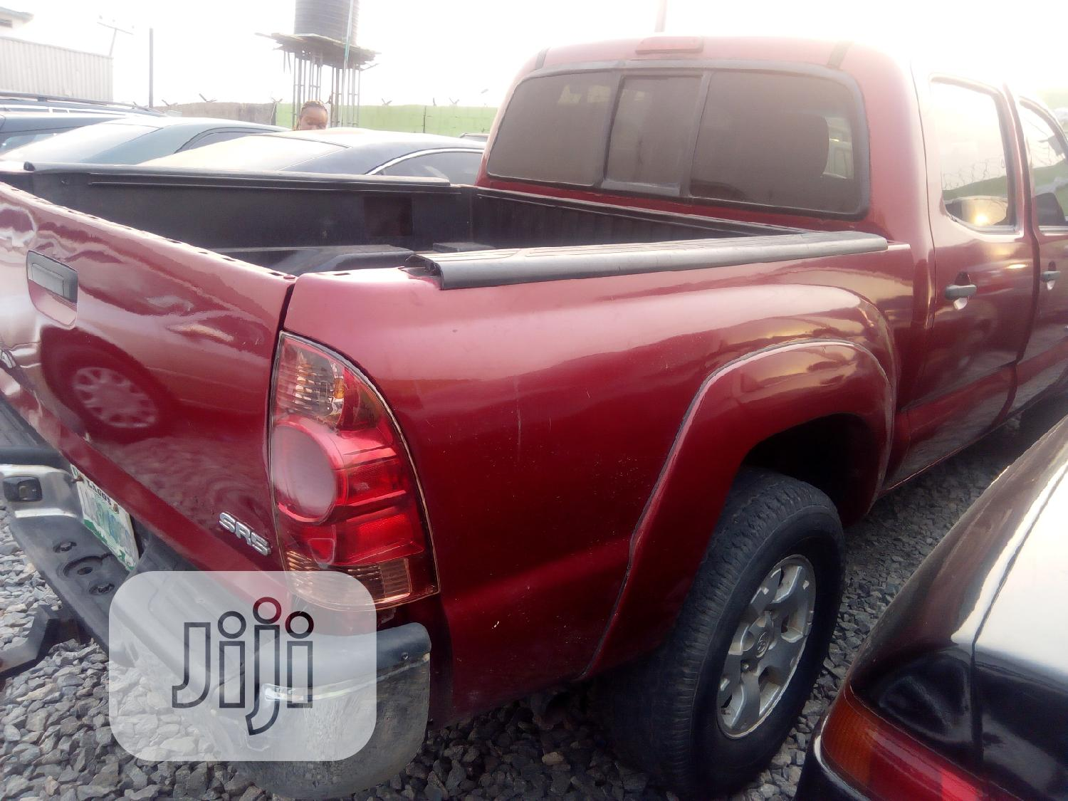 Archive: Toyota Tacoma 2008 Red