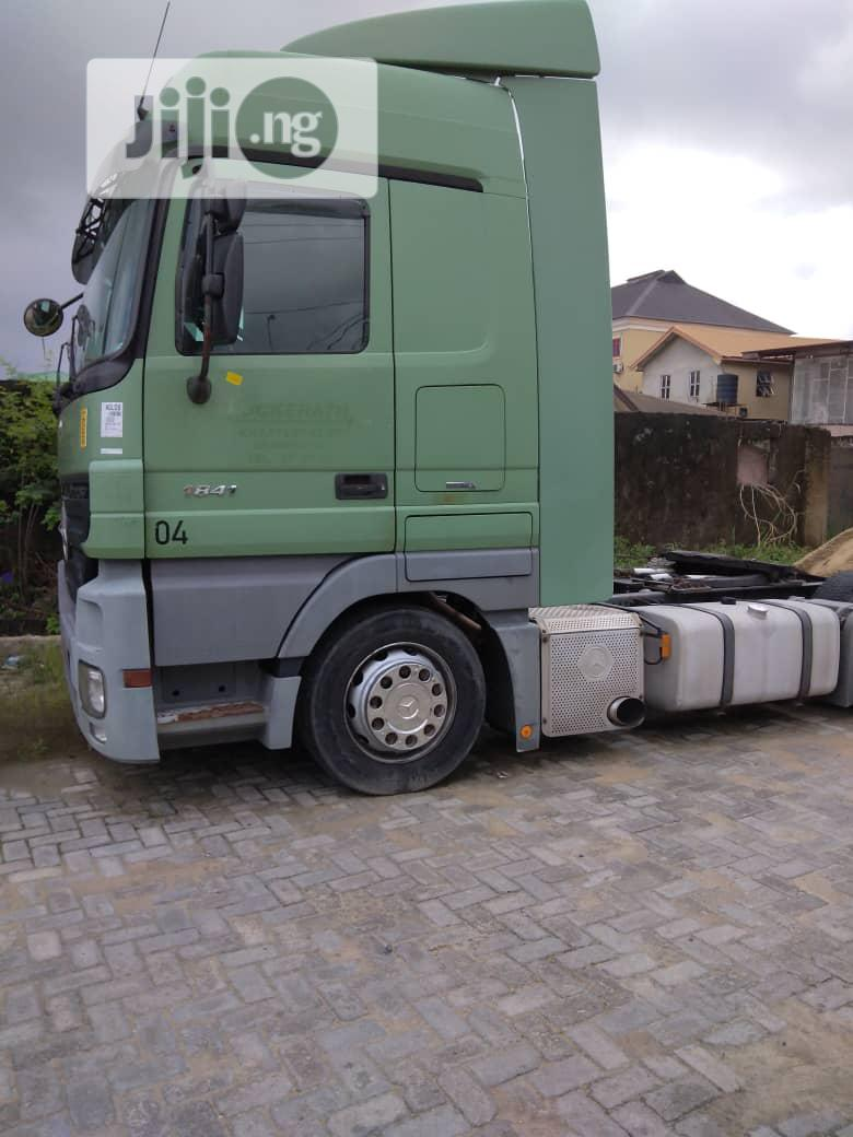 Archive: Sound and Clean Mercedes-Benz Actros 2010 Green