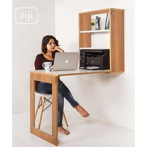 Foldable Wall Mounted Dining Table Storage Study Cabinet | Furniture for sale in Lagos State, Victoria Island