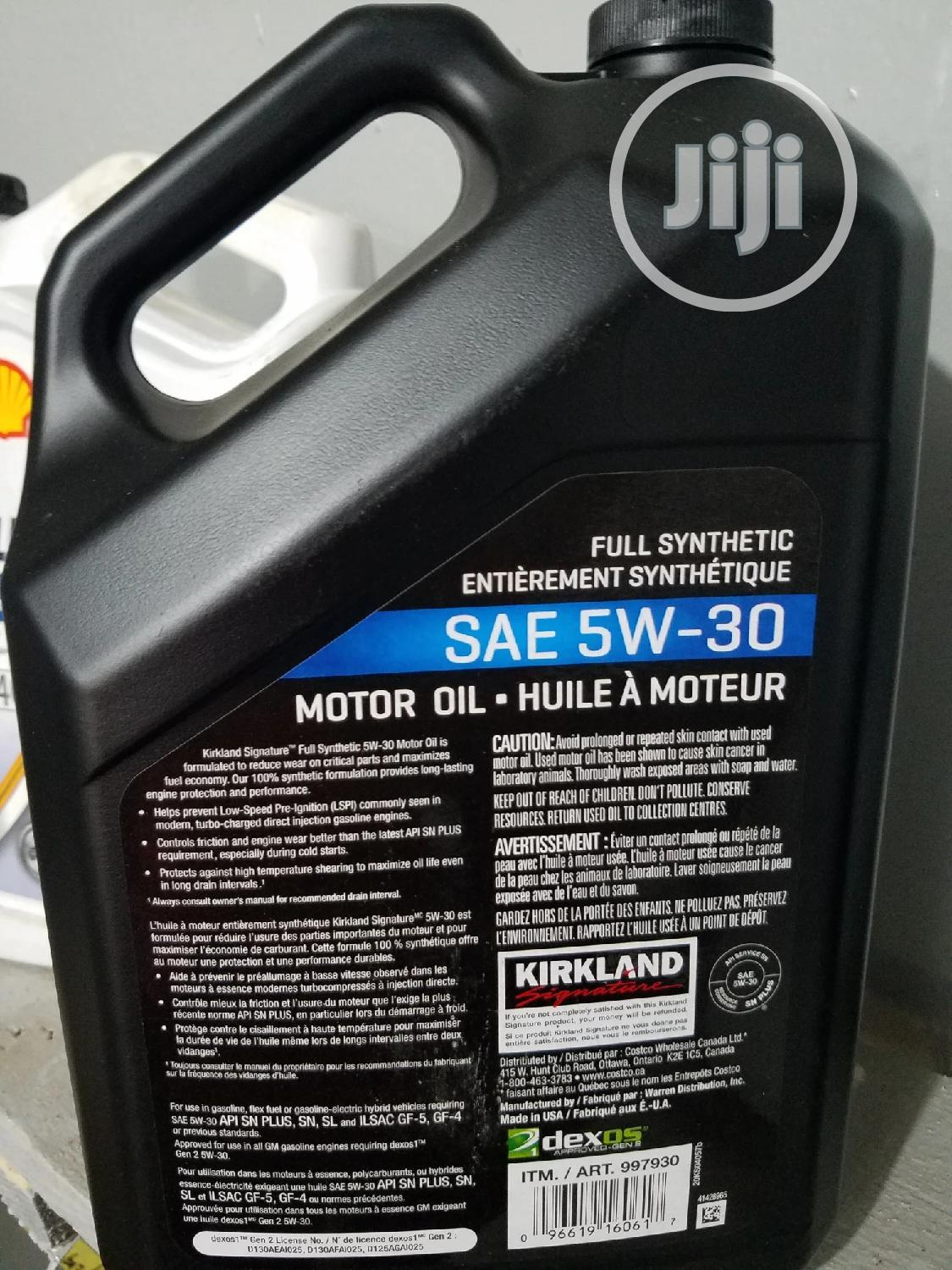 SAE 5W-30 Full Synthetic Engine Oil