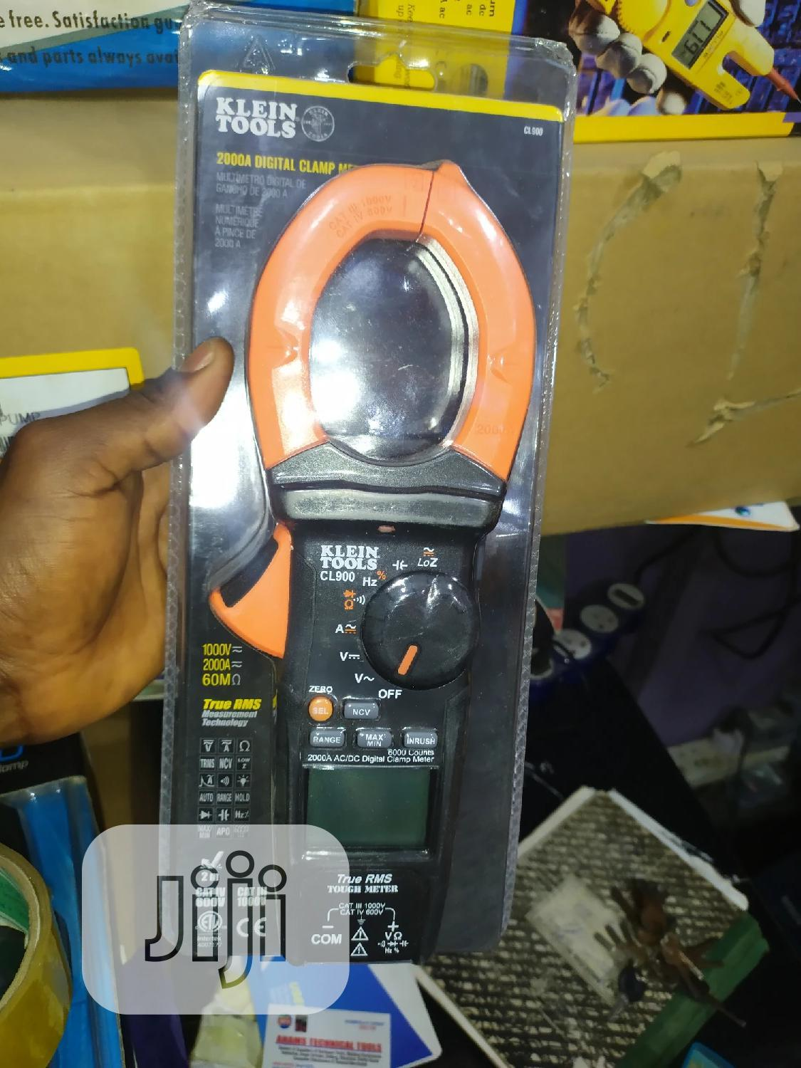 Klein Tools 2000amps AC-DC Digital Clamp | Measuring & Layout Tools for sale in Ojo, Lagos State, Nigeria