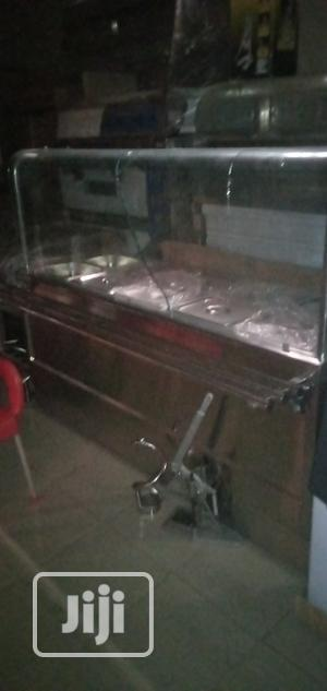 Curve Glass Standing Food Warming Display 10plate | Restaurant & Catering Equipment for sale in Lagos State, Ojo