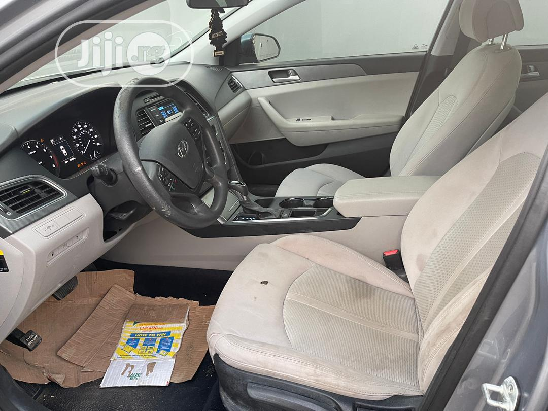 Hyundai Sonata 2016 Gray   Cars for sale in Ikeja, Lagos State, Nigeria