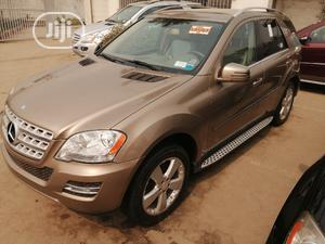 Mercedes-Benz M Class 2011 Gold   Cars for sale in Lagos State, Apapa