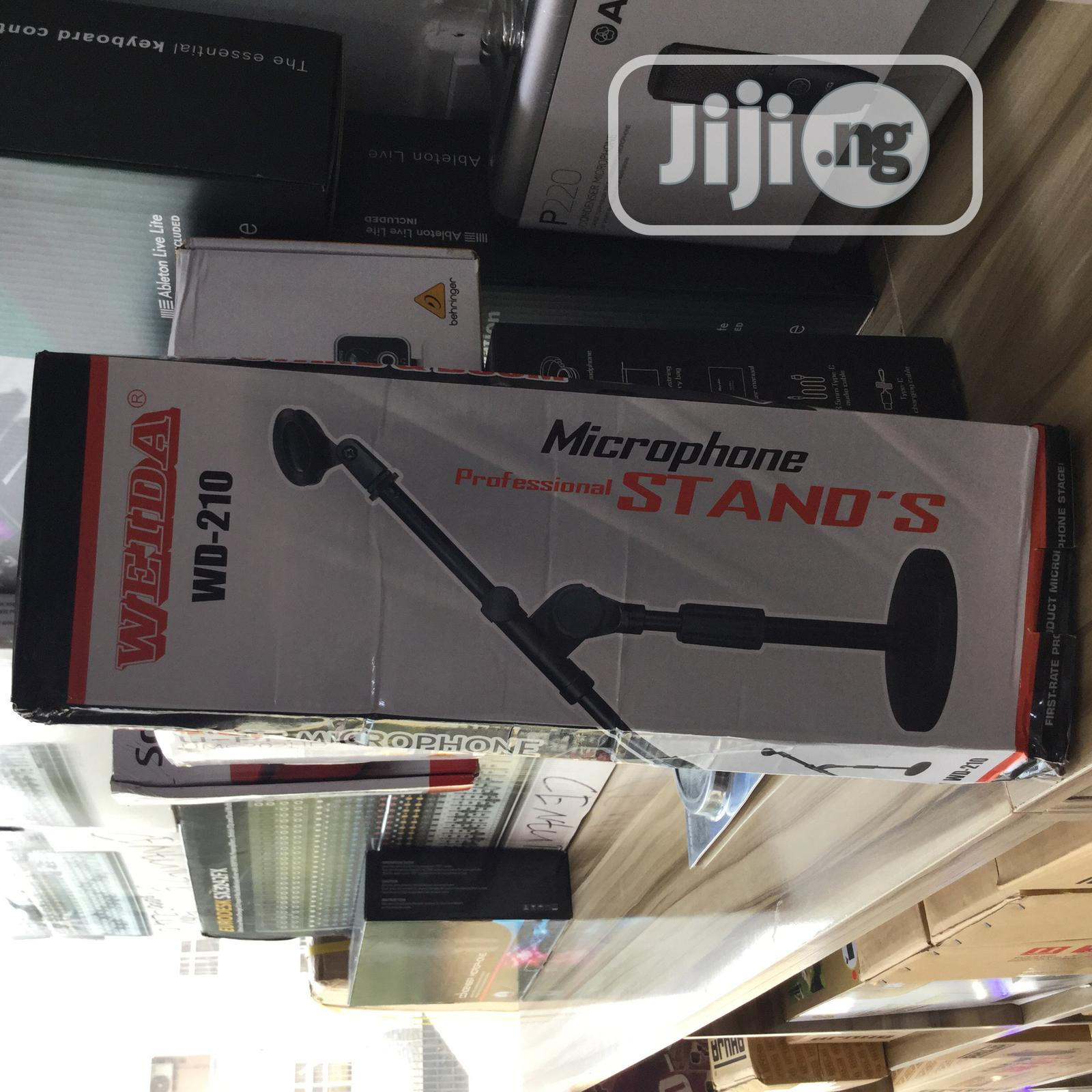 Professional Table Microphone Stand | Audio & Music Equipment for sale in Wuse 2, Abuja (FCT) State, Nigeria