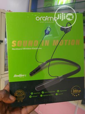 Oraimo, Necklace 2, Wireless Earphone( 2baba)   Headphones for sale in Lagos State, Ojodu