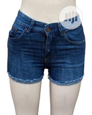 Blue Denim Bumshorts | Clothing for sale in Lagos State, Ikeja