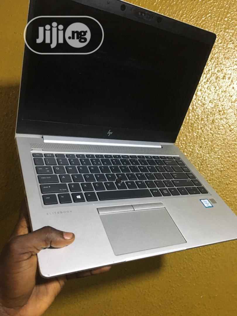Laptop HP EliteBook 840 G5 8GB Intel Core I5 SSD 256GB   Laptops & Computers for sale in Ikeja, Lagos State, Nigeria