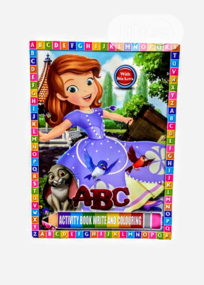 Kids Sticker Book With Activities