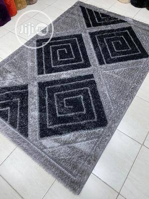 Gray and Black Center Rug | Home Accessories for sale in Lagos State, Lagos Island (Eko)
