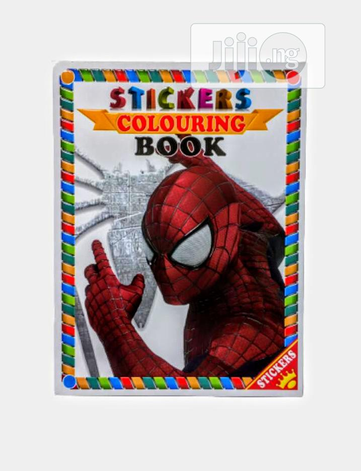 Kids Sticker Book With Activities   Books & Games for sale in Apapa, Lagos State, Nigeria