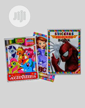 12pcs Kids Sticker Book With Activities | Books & Games for sale in Lagos State, Apapa