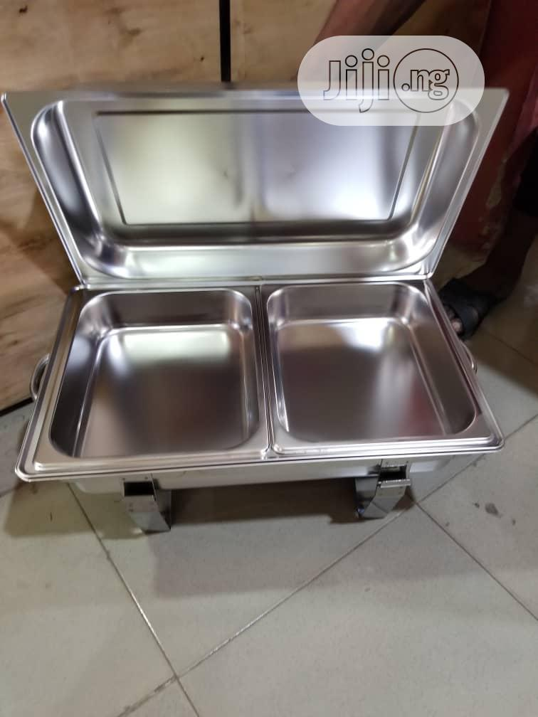 Chaffing Dishes Double Trays