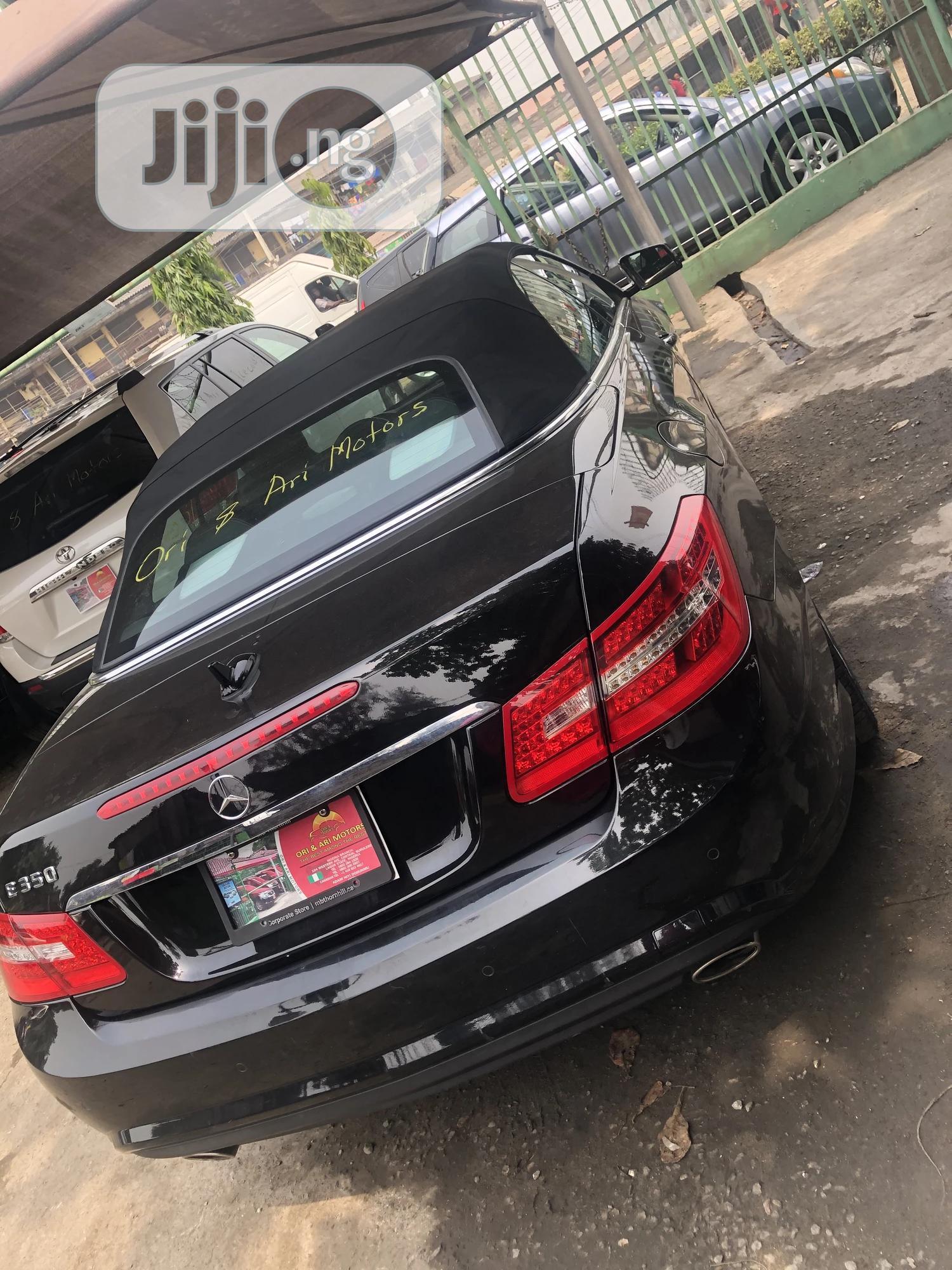 Mercedes-Benz E350 2012 Black | Cars for sale in Surulere, Lagos State, Nigeria