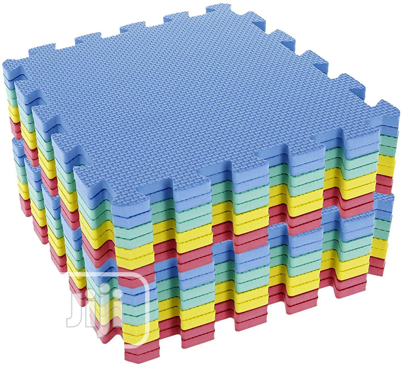 Interlocking Soft Kids Baby EVA Foam Activity Play Mat Floor