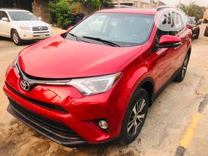 Toyota RAV4 2017 XLE AWD (2.5L 4cyl 6A) Red | Cars for sale in Lagos State, Ikeja