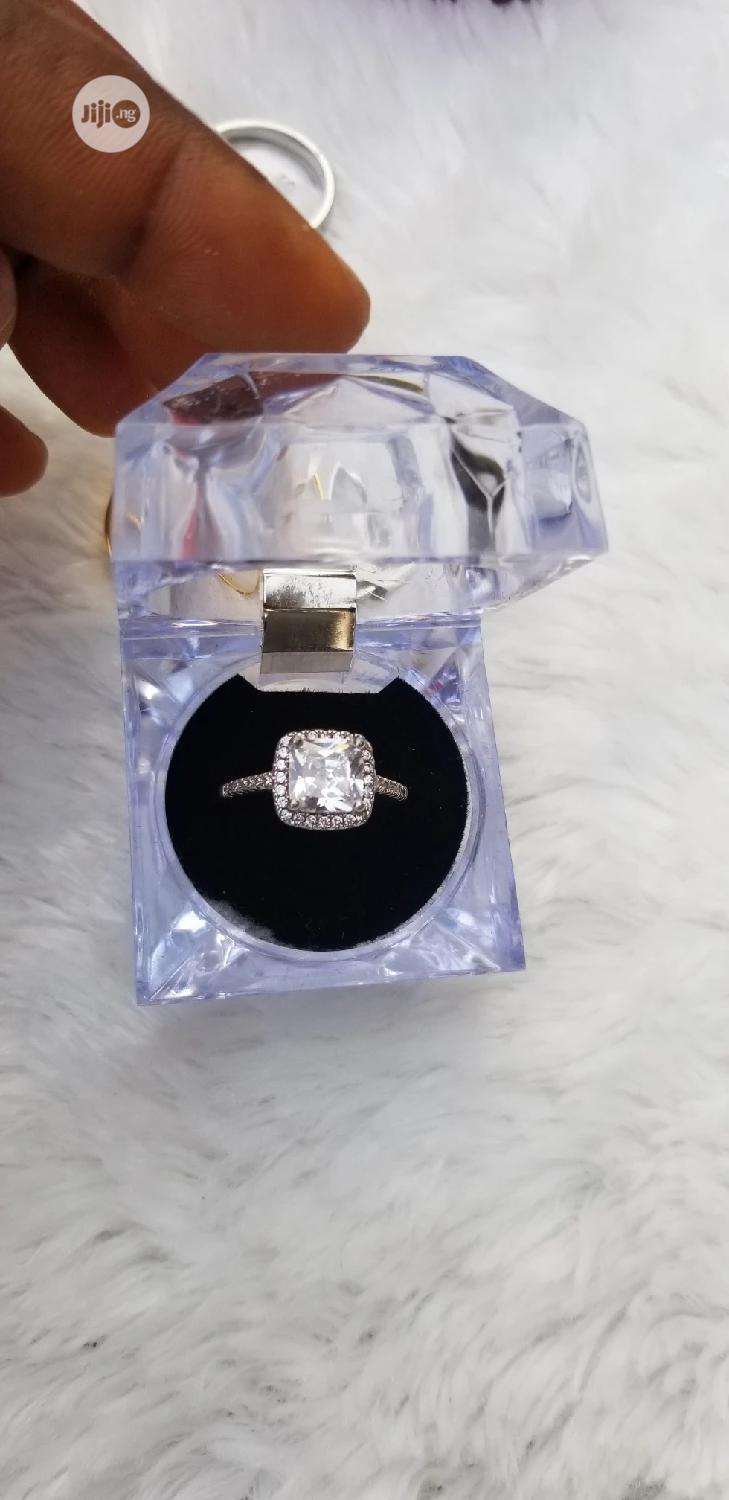 Silver Engagement Proposal Ring | Wedding Wear & Accessories for sale in Ajah, Lagos State, Nigeria
