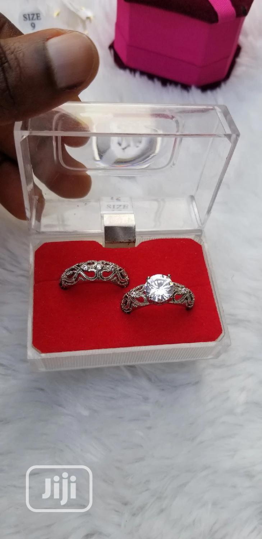 Silver Wedding Ring Set | Wedding Wear & Accessories for sale in Ajah, Lagos State, Nigeria