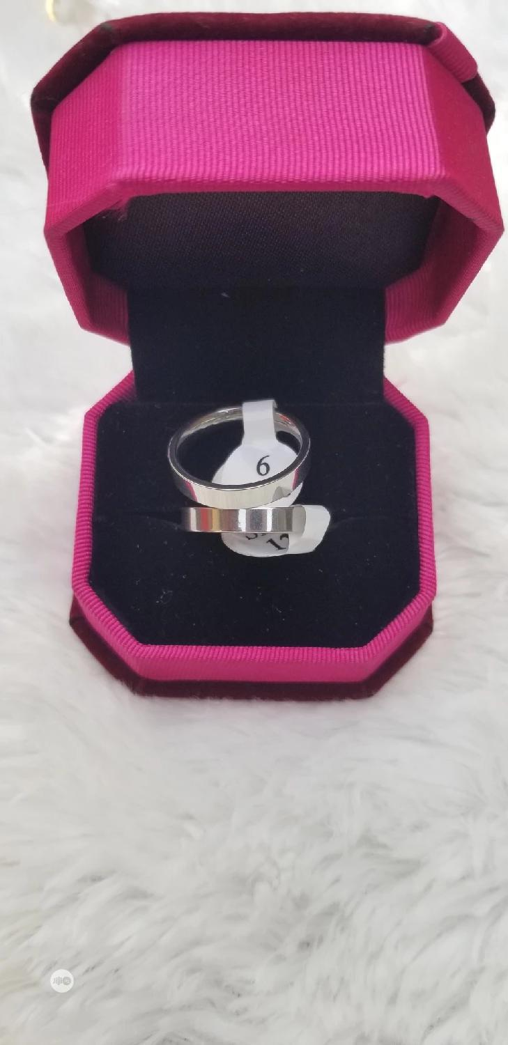 Pure Stainless Steel Plain Wedding Ring