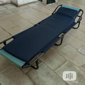 Black Adjustable Camp Bed | Camping Gear for sale in Lagos State, Maryland