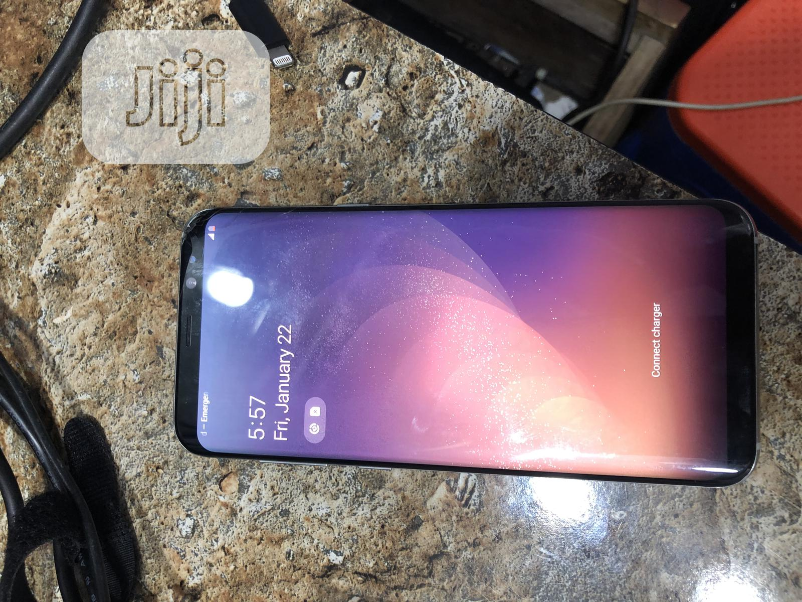 Samsung Galaxy S8 Plus 64 GB Silver | Mobile Phones for sale in Ikeja, Lagos State, Nigeria