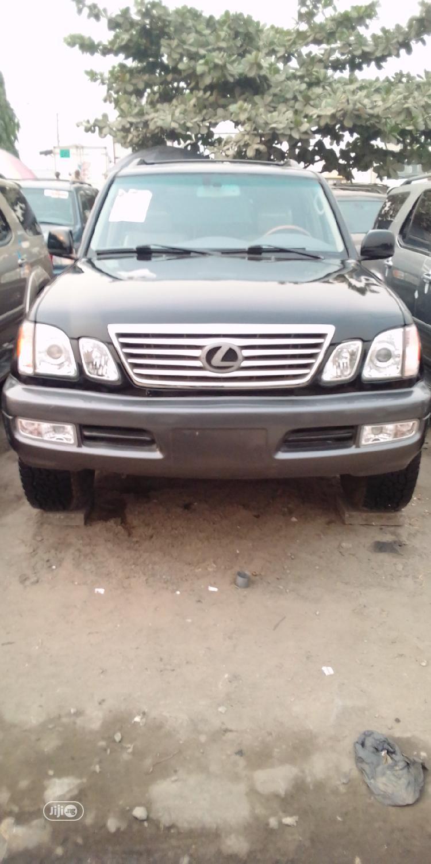 Lexus LX 2007 470 Sport Utility Black   Cars for sale in Apapa, Lagos State, Nigeria