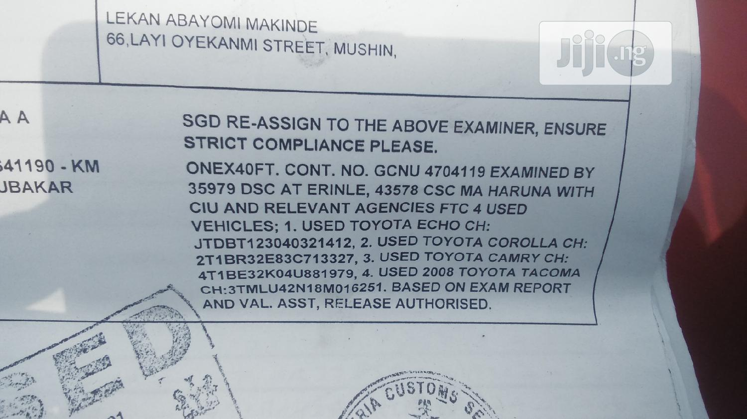 Freight Forwarder/Shipping Manager   Logistics Services for sale in Ojodu, Lagos State, Nigeria