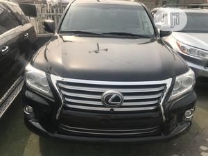 Lexus LX 2015 570 Base Black | Cars for sale in Lagos State, Ajah