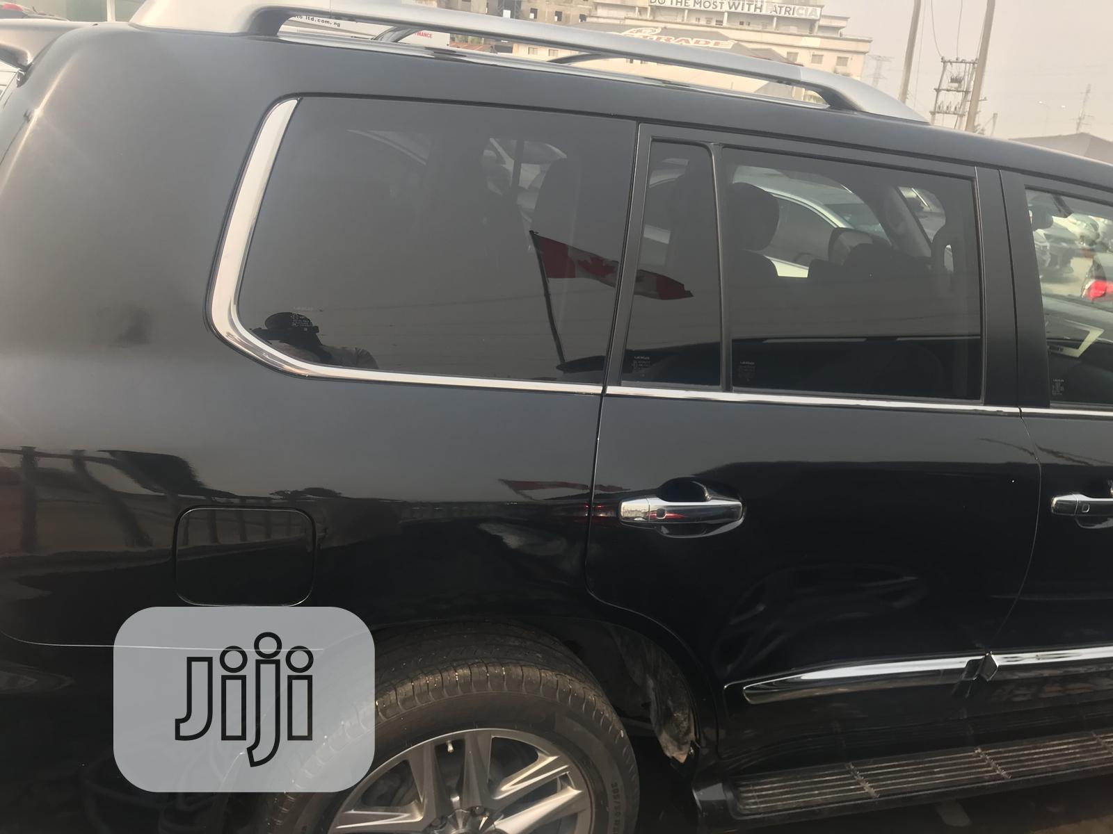 Lexus LX 2015 570 Base Black | Cars for sale in Ajah, Lagos State, Nigeria